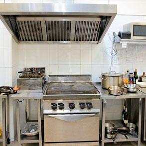 Cocina industrial no permitas que se convierta en el tal n de aquiles de tu bar consejos para - Cocina para bar ...