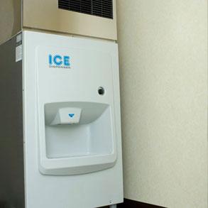 Limpieza interior de la máquina de hielo