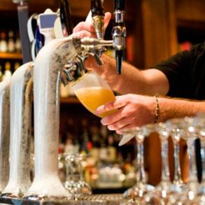 Saber servir una cerveza es todo un arte