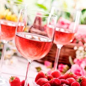 Vinos rosados: un acompañamiento muy sutil