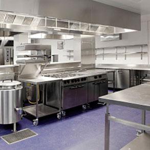 Mesas de trabajo de acero inoxidable consejos para bares - Mesa de trabajo para cocina ...