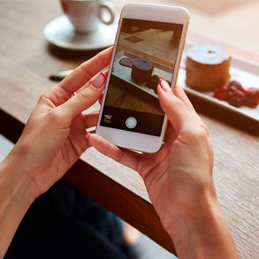 Instagram es una de las redes sociales más adecuadas para promover tu bar