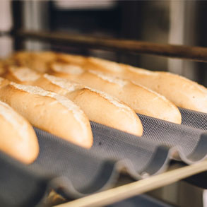 Saber horner el pan congelado es muy important
