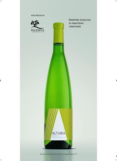 Vino Blanco.Vino color amarillo pajizo, limpio, brillante