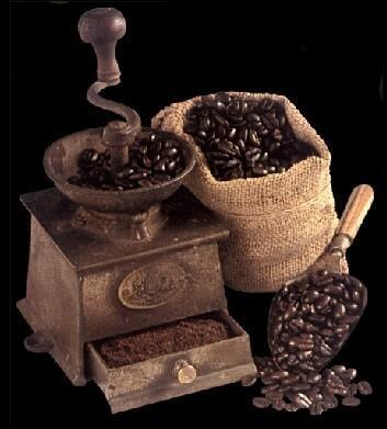 Café Molido. Café molido soluble