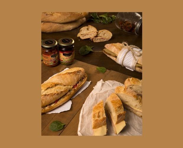 Bocadillos Kentes. Elaborados con pan gallego y rellenos de calidad