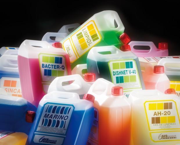 Productos de Limpieza. Productos de limpieza en bidones