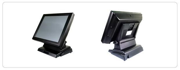 POS 55. Terminal táctil compacto con placa industrial