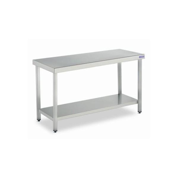 Mobiliario de acero inoxidable. Mesas de trabajo, muebles cafeteros