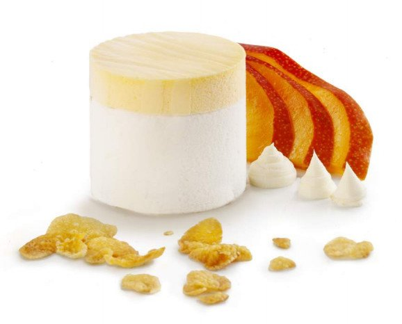 CAPRICCIO de Yogur y Mango. Con la selección de las mejores frutas del bosque en su interior