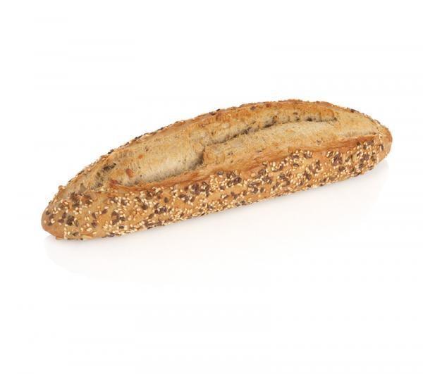 Pan Congelado.Barra de pan alemán con semillas de 210 gr