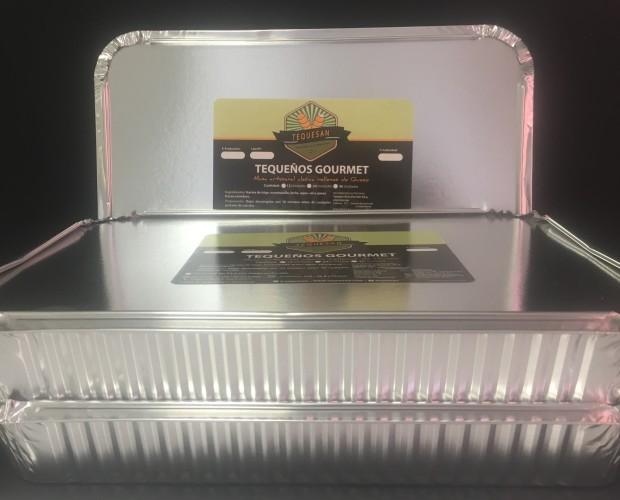Caja de 50 tequeños. Presentación para hostelería, cajas de 50 tequeños
