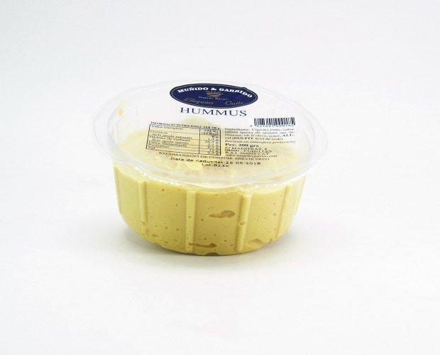 Derivados de Legumbres. Hummus. Contamos con hummus en formato 200gr y 1k