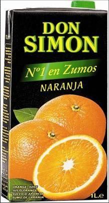 Vinos y zumos. Zumo de naranja