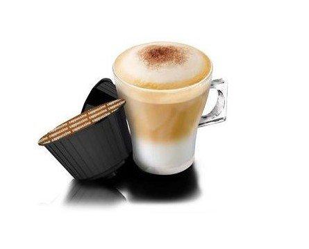 Café Cappuccino Cabú. Cremoso y Espumoso
