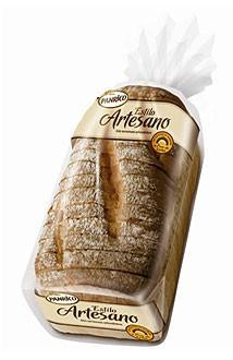 Pan de molde. Pan blanco,pan integral, pan hamburguesas