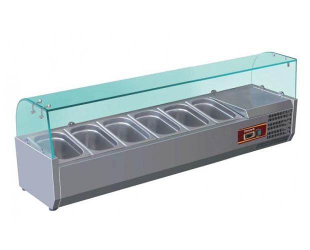 Vitrinas Refrigeradas.Capacidad para 6-10 cubetas, según medidas