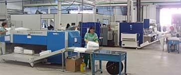 Lavandería Industrial.Lavado de ropa y servicio de renting