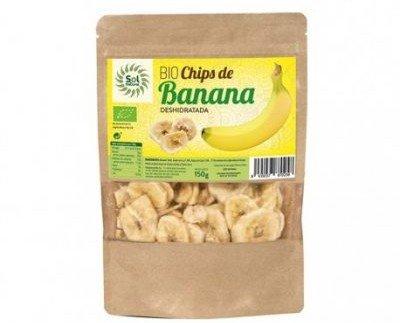Fruta Deshidratada.Chips de banana