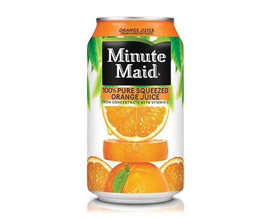 Minute Maid. Zumos de naranja Minute Maid 100% naturales