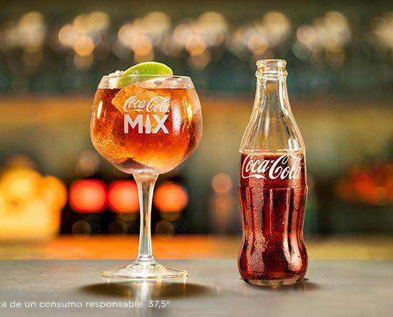 Coca-Cola Mix. Ideal para mezclar con otras bebidas