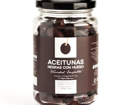 Aceitunas negras Aragón . Delicioso producto