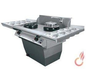 Cocina serie wok. Esta nueva serie está especialmente pensada para restaurantes wok-buffet