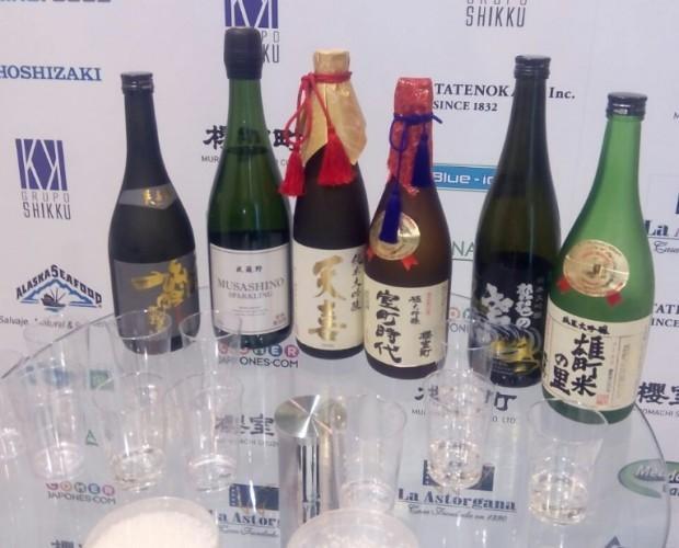 Sake. Sake premium de japón