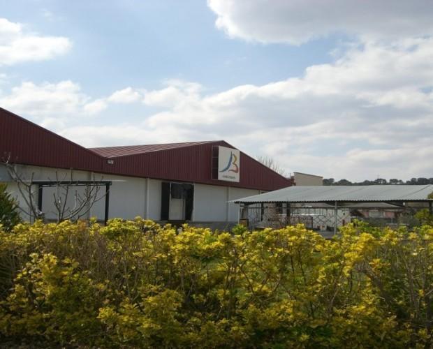 Fábrica. Vista exterior fábrica