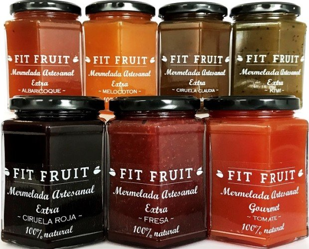 Mermeladas Fit Fruit. Venta al por mayor de mermeladas Galicia