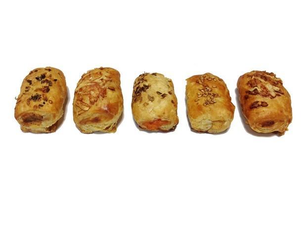 Mini chips variados. Deliciosos productos de bollería