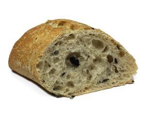 Pan de olivas. Pan de aceitunas