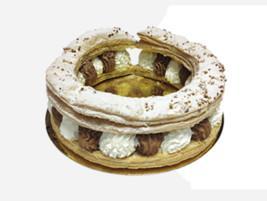 Tortel de nata-trufa
