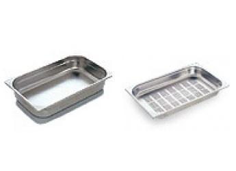 Cubetas de Acero Inoxidable.Variedad de cubetas de acero inox