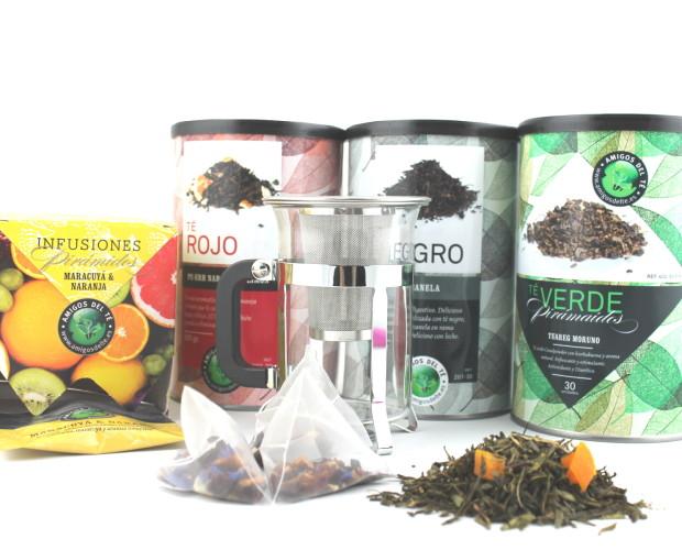 Té e infusiones. Variedad de té e infusiones