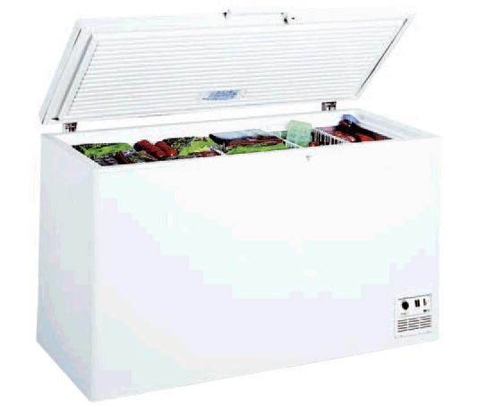 Congeladores.Exterior en chapa galvanizada y plastificada en blanco.