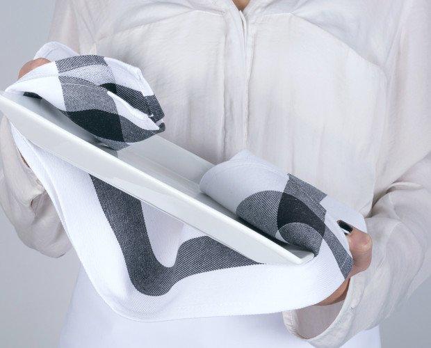 PAÑO-SELECTO-NEGRO. Paño de cocina, Selecto Negro, 100% algodón