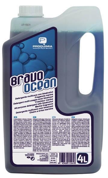 Limpiadores Multiusos. Bravo Ocean