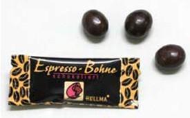 Dulces de Cortesía. Chocolates de Cortesía. Grano de café tostado con cobertura de chocolate