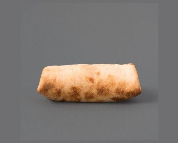 Burrito de chili. Burrito de chili con carne