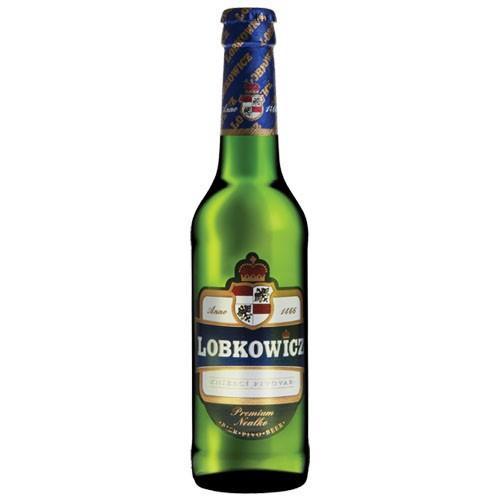 Cerveza de Importación.Cerveza tradicional checa Lobkowicz sin alcohol
