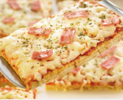 Pizzas congeladas. Deliciosas pizzas artesanas