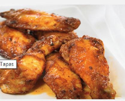 Alas de pollo. Platos apetitosos