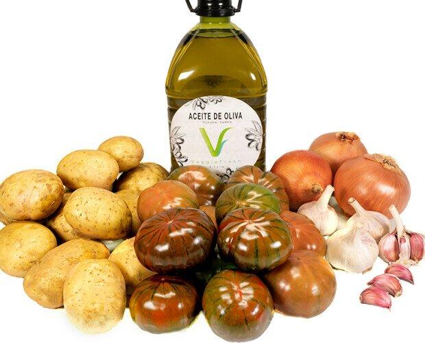 Veggie Box Premium. Ofrecemos una variada gama de productos y nuestro Aceite de Oliva