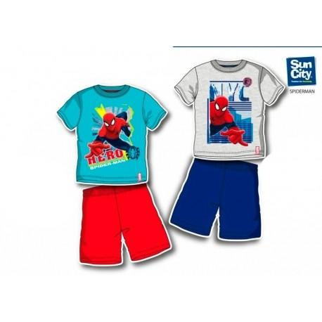 Pijamas Infantiles. Pijama con modelo de Spiderman