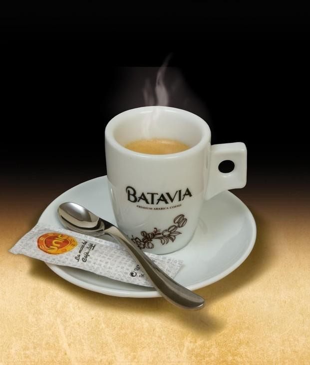 El mejor café. Sirva un delicioso café, escoja Batavia