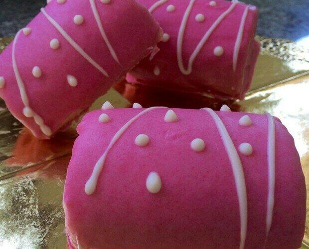 Pantera rosa. Deliciosa pantera rosa sin gluten. Envasados en tamaño de 4 unidades