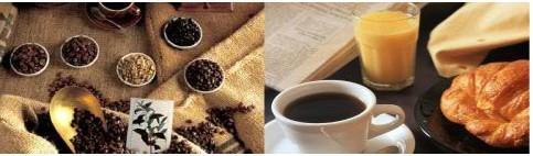 Café. Varios tipos y sabores.