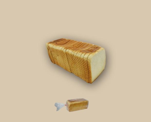 Pan de Molde. 800 gramos, 8 unidades por caja