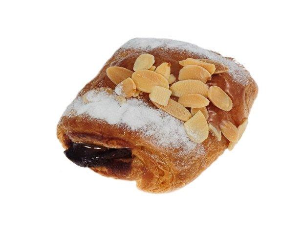 Mini napolitna chocopng. Amplio surtido de bollería dulce como napolitanas mini de chocolate